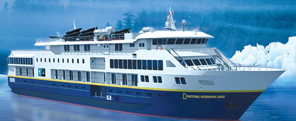 National Geographic Quest-sister ship to Venture, offers 4-night Wellness retreat expeditions
