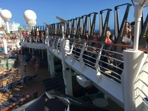 WOD ship charter on Mariner of the Seas with extra sports equipment