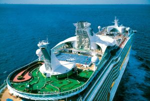 Mariner of the Seas Sports Deck