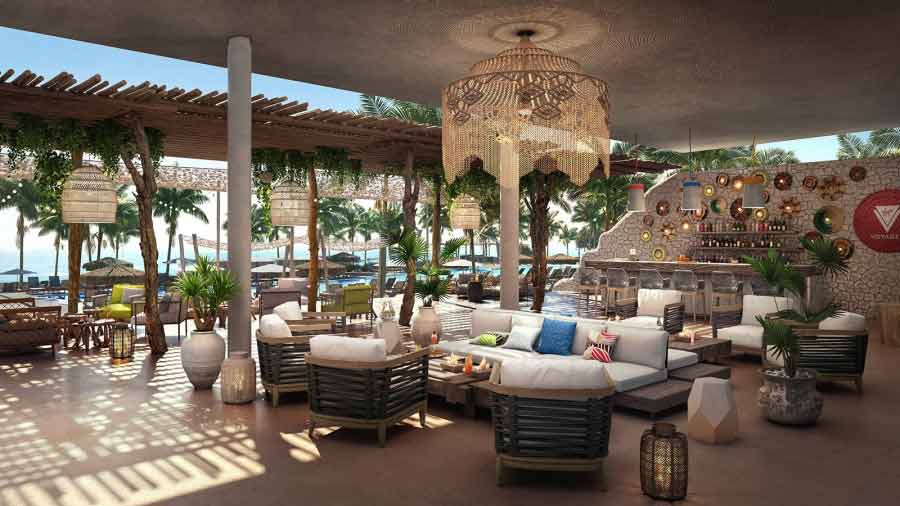Virgin Voyages exclusive Bimini Beach Club