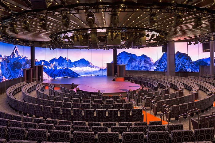 Holland America Koningsdam World Stage