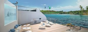 Le Bougainville expedtion ship Deck with Infinity pool