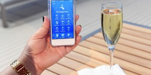 Royal Caribbean Cruises Excalibur App for speedy embarkation.