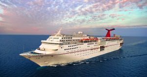 Carnival Fascination was chartered for hurricane relief