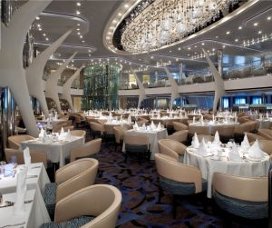 Celebrity Eclipse complimentary dining room