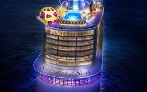 Spectrum of the Seas purpose-built for China