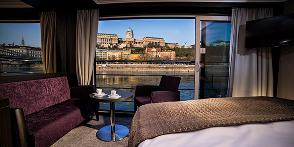 Avalon Waterways suite European river cruise