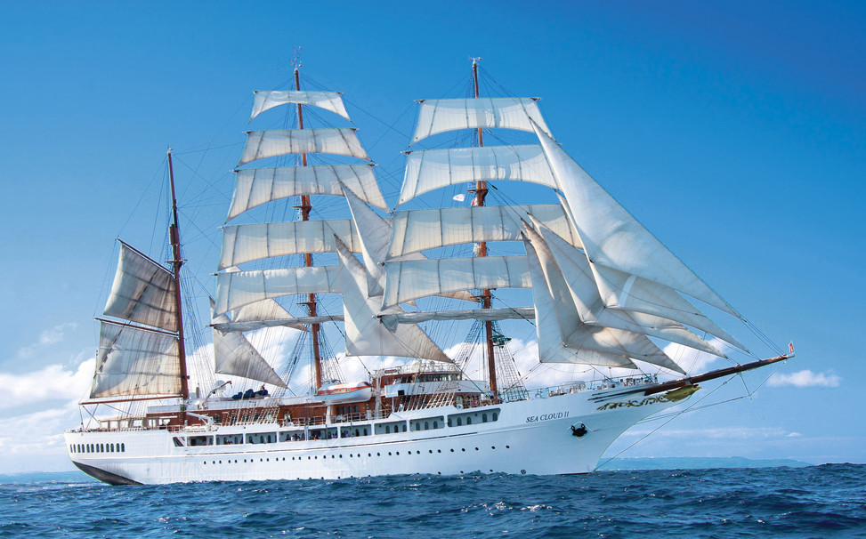 Sea Cloud Windjammer ship