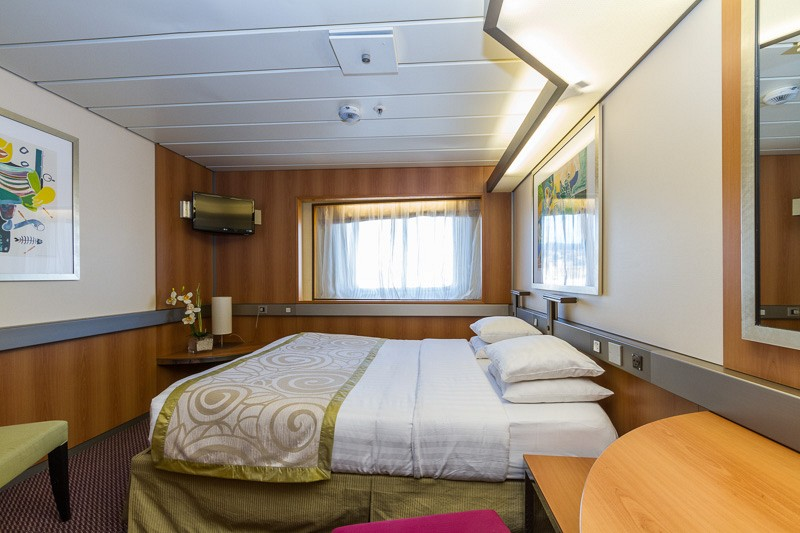 Passenger ships provide comfortable temporary housing