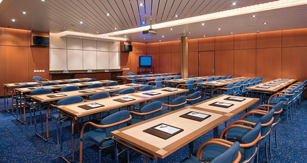 Enchantment of the Seas conference room for floating accommodations.