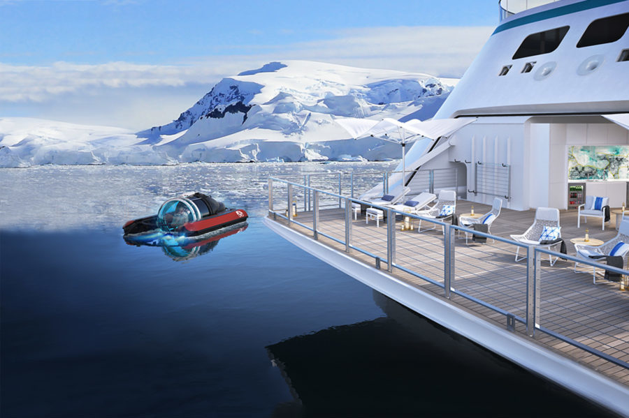 Crystal expedition yacht