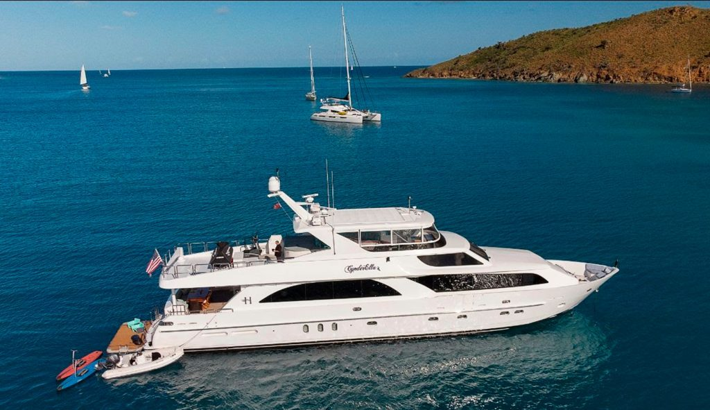 Cynderella Yacht Charters in Chesapeake Bay and New England