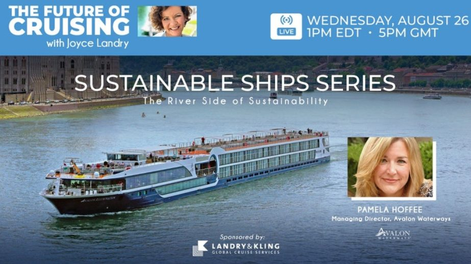 Sustainable Ships Livecast with Avalon Waterways