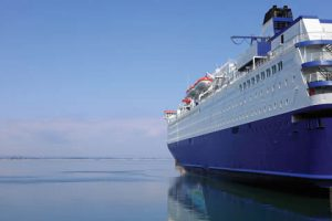 Passenger Ferry used for temporary workforce housing