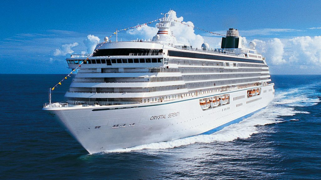 Crystal Serenity at sea